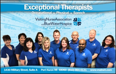 therapy staff ad--blue water woman half page ad--05-2018